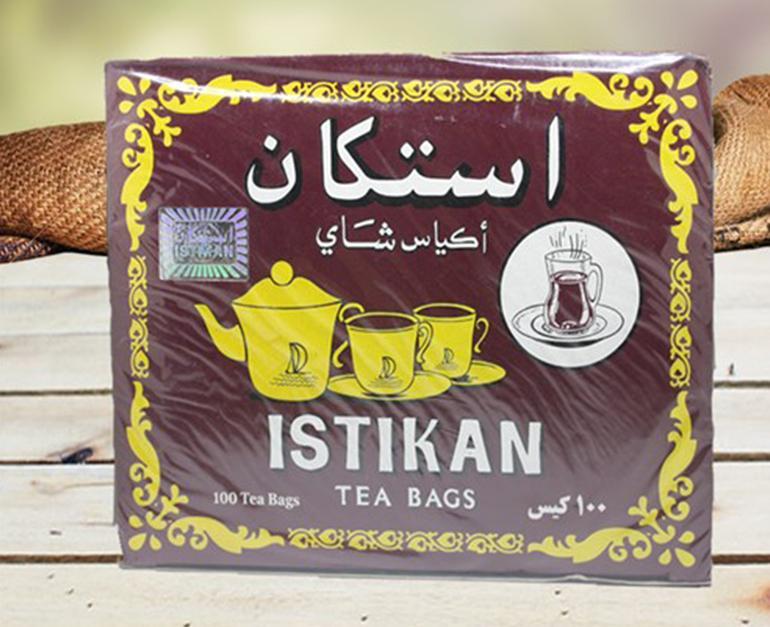 İstikan Tea Kokusuz Bardak 100 Adet Paket Sallama Poşet Çay