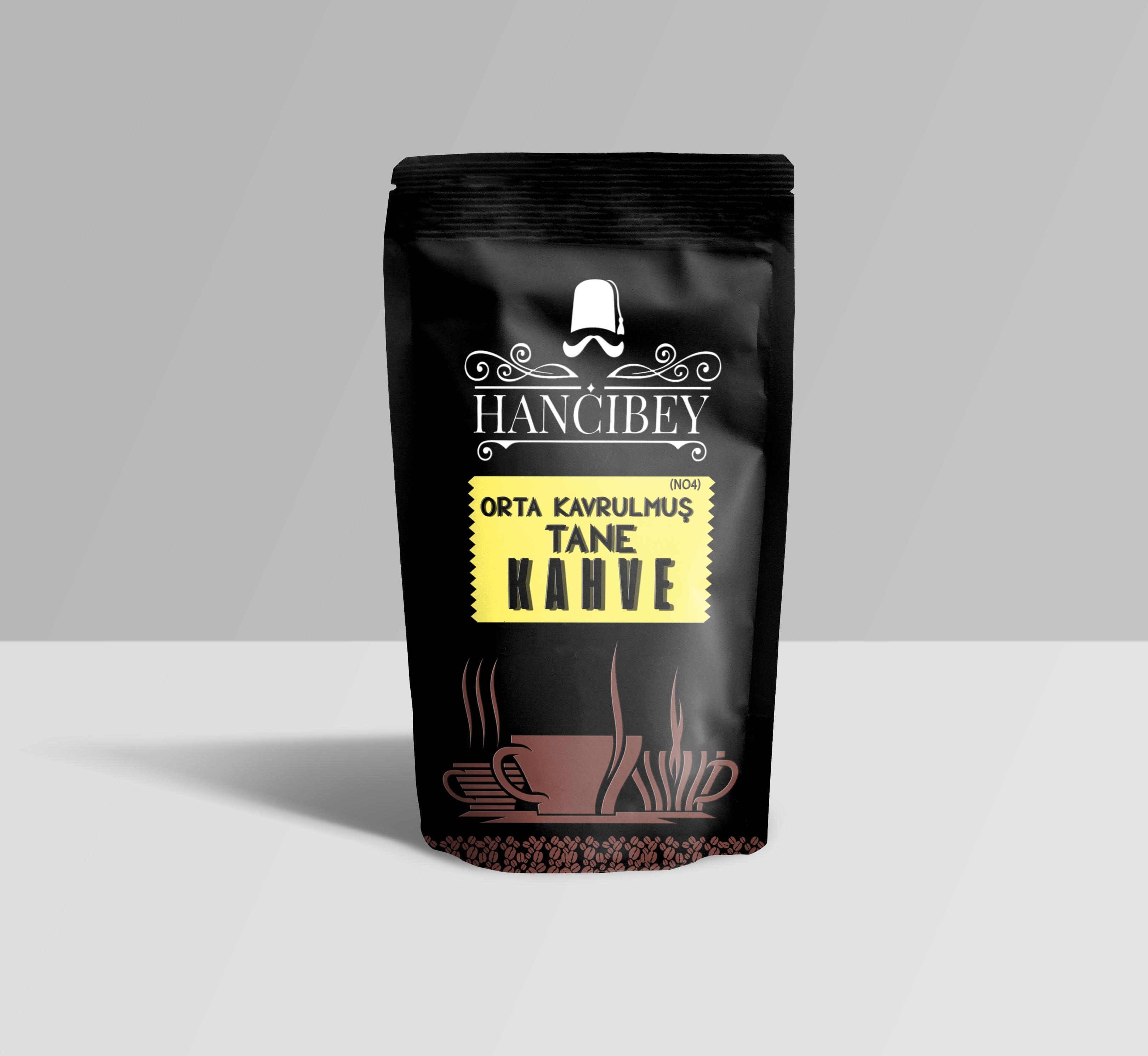 4 no orta kavrulmuş tane kahve 5 kg