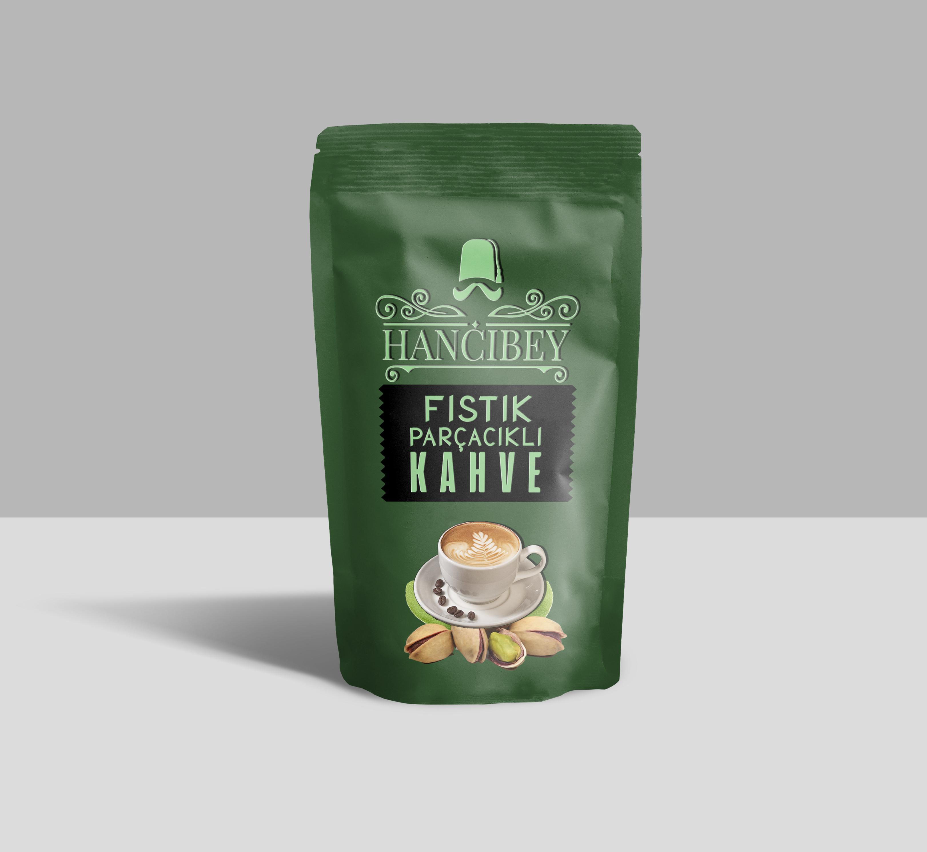 HANCIBEY Fıstık parçacıklı kahve 1 kg