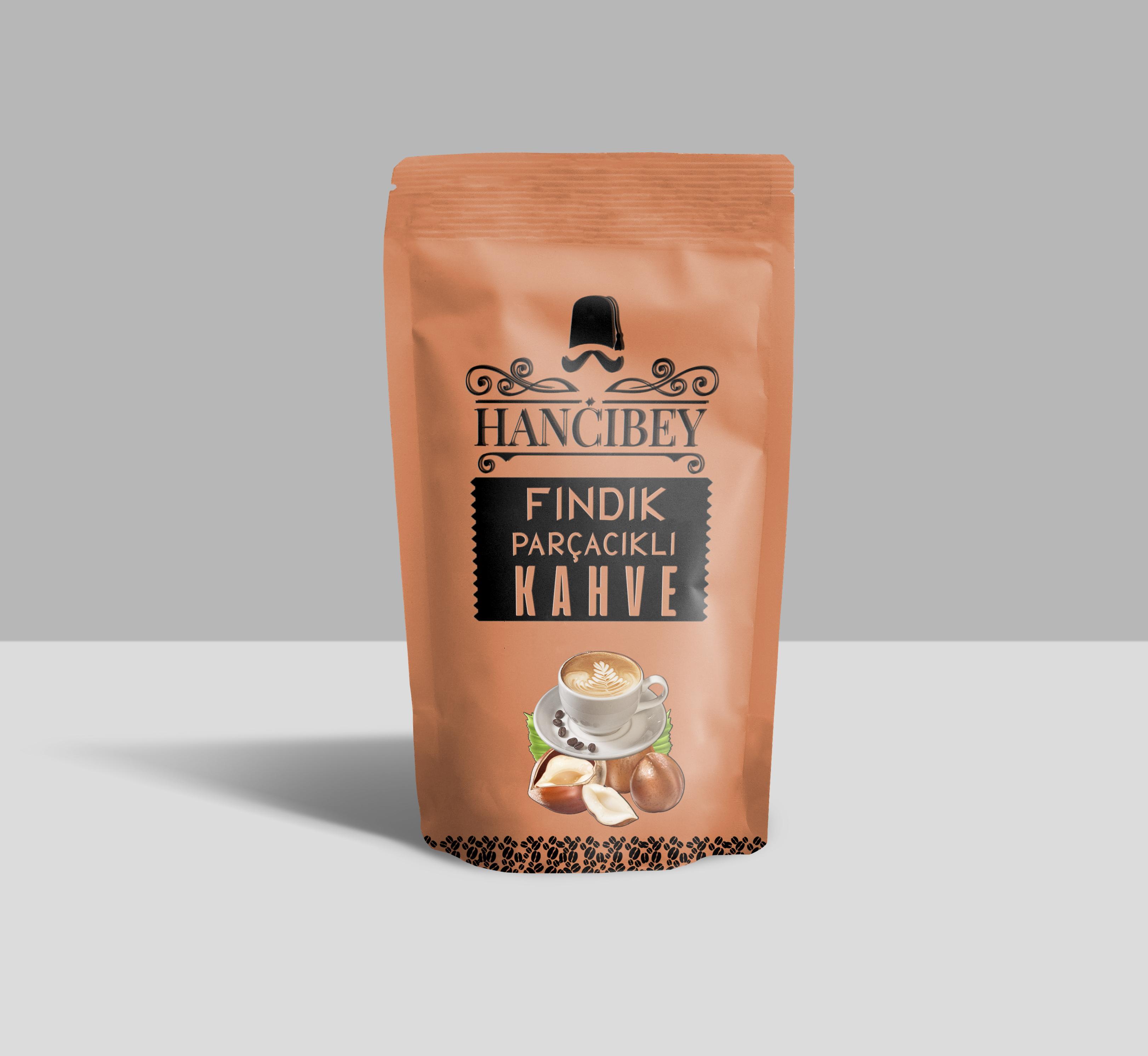 Fındık parçacıklı kahve 1000 Gr